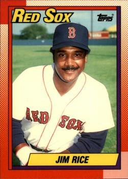 1990 Topps - Tiffany #785 Jim Rice Front