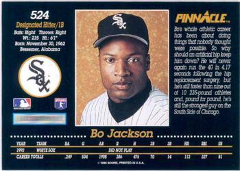 Bo Jackson Gallery The Trading Card Database