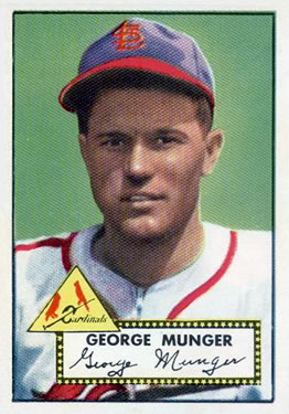 1952 Topps #115 Red Munger Front