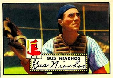 1952 Topps #121 Gus Niarhos Front