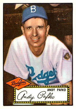 1952 Topps #1 Andy Pafko Front