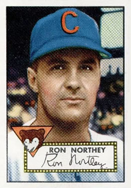 1952 Topps #204 Ron Northey Front