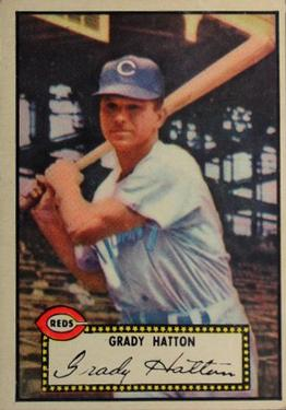 1952 Topps #6 Grady Hatton Front