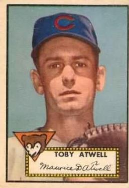 1952 Topps #356 Toby Atwell Front