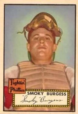 1952 Topps #357 Smoky Burgess Front