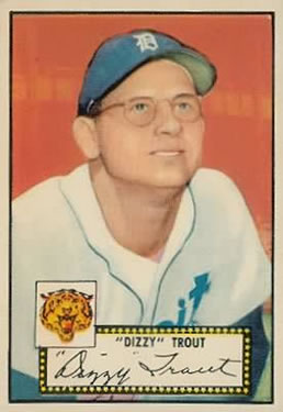 1952 Topps #39 Dizzy Trout Front
