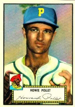 1952 Topps #63 Howie Pollet Front