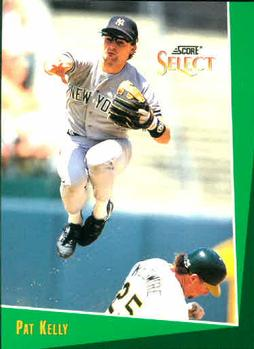 1993 Select #255 Pat Kelly Front