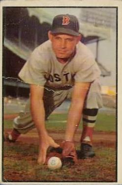 1953 Bowman Color #123 Johnny Lipon Front