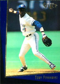 1993 Select Rookie/Traded #19T Tony Fernandez Front