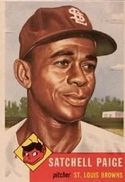 1953 Topps #220 Satchel Paige Front