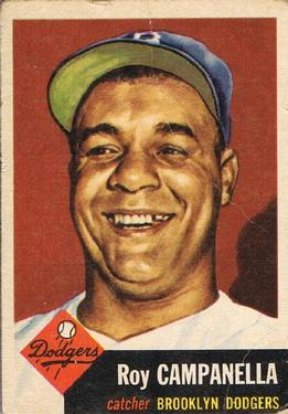 1953 Topps #27 Roy Campanella Front