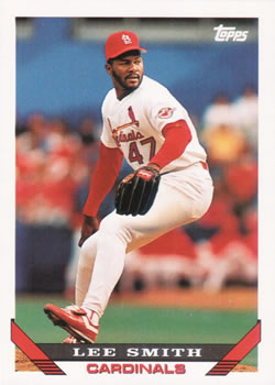1993 Topps #12 Lee Smith Front