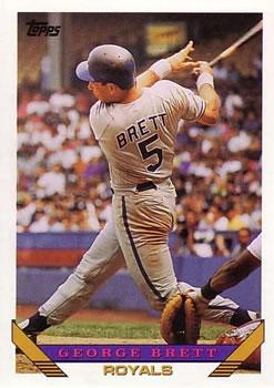 1993 Topps #397 George Brett Front