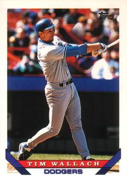 1993 Topps Traded #127T Tim Wallach Front