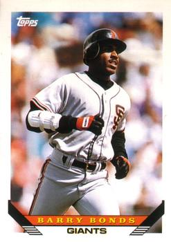 1993 Topps Traded #1T Barry Bonds Front