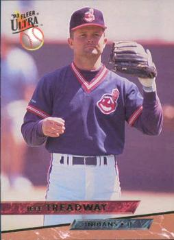 1993 Ultra #546 Jeff Treadway Front