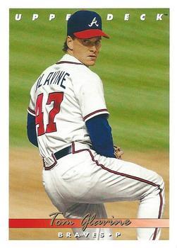 1993 Upper Deck # 472 Strike Force Atlanta Braves Baseball Card