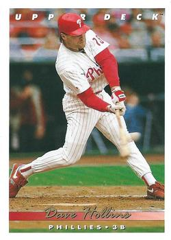 1993 Upper Deck #153 Dave Hollins Front