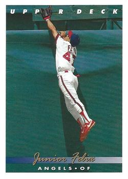 1993 Upper Deck #157 Junior Felix Front