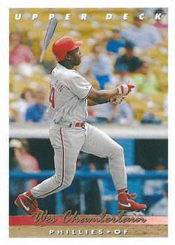 1993 Upper Deck #267 Wes Chamberlain Front