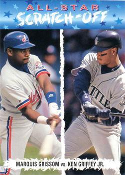 e44a6bec92 1993 Upper Deck Fun Pack - All-Star Scratch-Off #AS8 Marquis Grissom / Ken  Griffey Jr. - Montreal Expos / Seattle Mariners