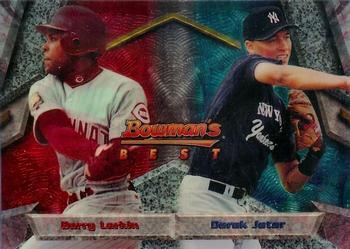 1994 Bowman's Best #95 Barry Larkin / Derek Jeter Front
