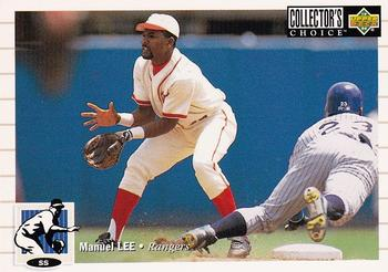 1994 Collector's Choice #172 Manuel Lee Front