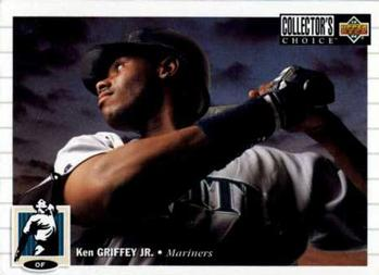 1994 Collector's Choice #117 Ken Griffey Jr. Front