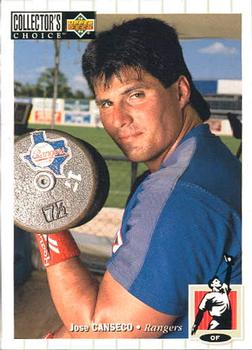 1994 Collector's Choice #560 Jose Canseco Front