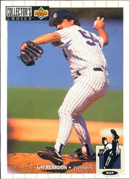 1994 Collector's Choice #592 Jeff Reardon Front
