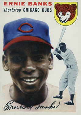 1954 Topps #94 Ernie Banks Front