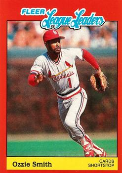 Collection Gallery K Nole Ozzie Smith The Trading Card Database