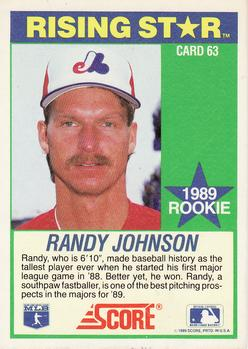 Collection Gallery Sandys Singles Randy Johnson The