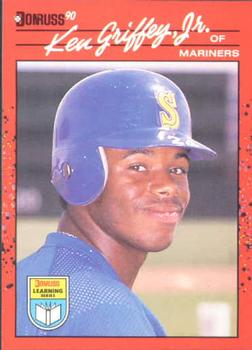 1990 Donruss Learning Series #8 Ken Griffey Jr. Front