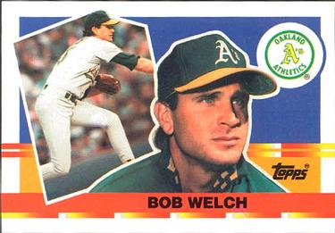 Bob Welch Gallery The Trading Card Database
