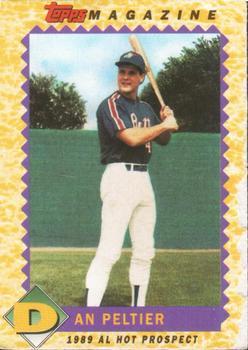 1990 Topps Magazine Baseball Gallery The Trading Card
