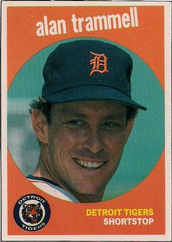 Alan Trammell Gallery 1989 The Trading Card Database