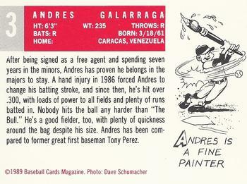 1989 Baseball Card Magazine 59 Topps Replicas Baseball