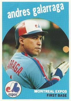 Andres Galarraga Gallery 1989 The Trading Card Database