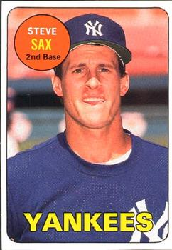 Steve Sax Gallery 1990 The Trading Card Database