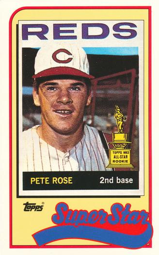 Pete Rose Gallery 1989 The Trading Card Database