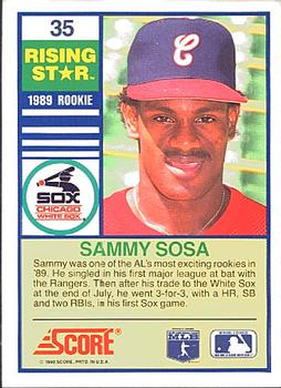 sammy sosa biography 7 what is sosa's full name question from quiz: sammy sosa (click to play it) question by author ardwark answer: samuel peralta sosa sosa was born as samuel peralta sosa on nov 12, 1968, in the town of san pedro de macoris, in the dominican republic 8 who gave up sammy sosa's first home run question.
