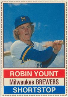 1976 Hostess #11 Robin Yount Front