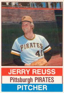 1976 Hostess #29 Jerry Reuss Front