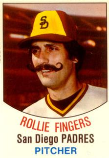 1977 Hostess #137 Rollie Fingers Front