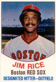 1977 Hostess #23 Jim Rice Front
