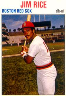 1979 Hostess #2 Jim Rice  Front