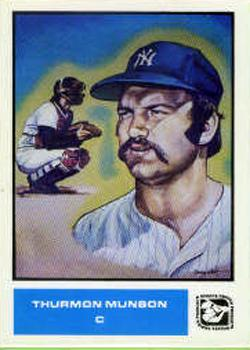 1984-85 Sports Design Products #15 Thurman Munson Front
