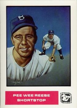 1984-85 Sports Design Products #34 Pee Wee Reese Front